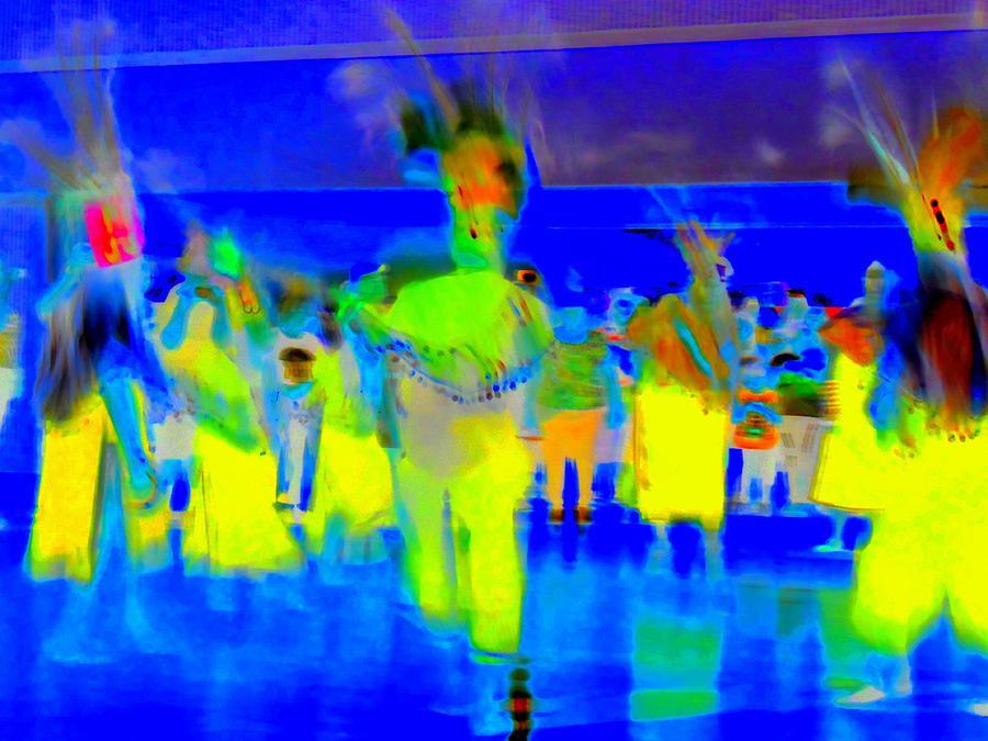 Ballet Folklorico Digital Art - Folklorico 2 by Randall Weidner