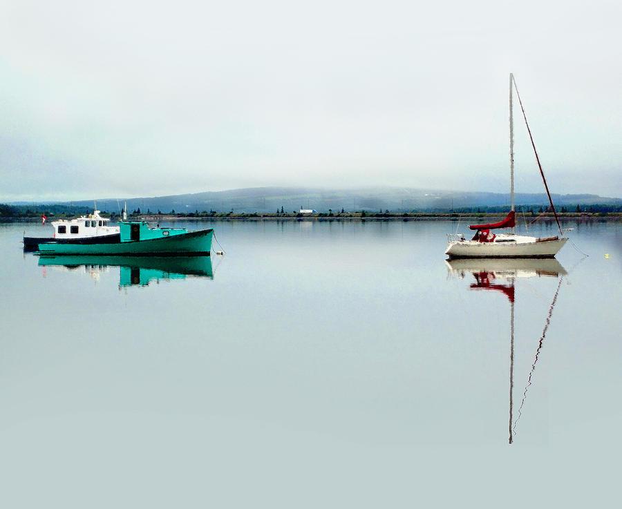 Harbor Photograph - Follow The Leader by Studio Maeva