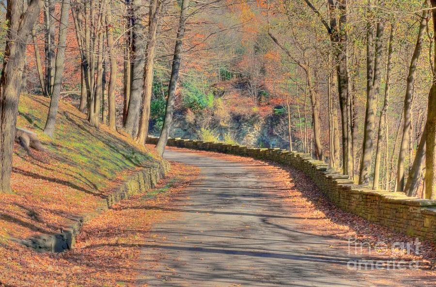 Letcworth Photograph - Follow The Path by Kathleen Struckle