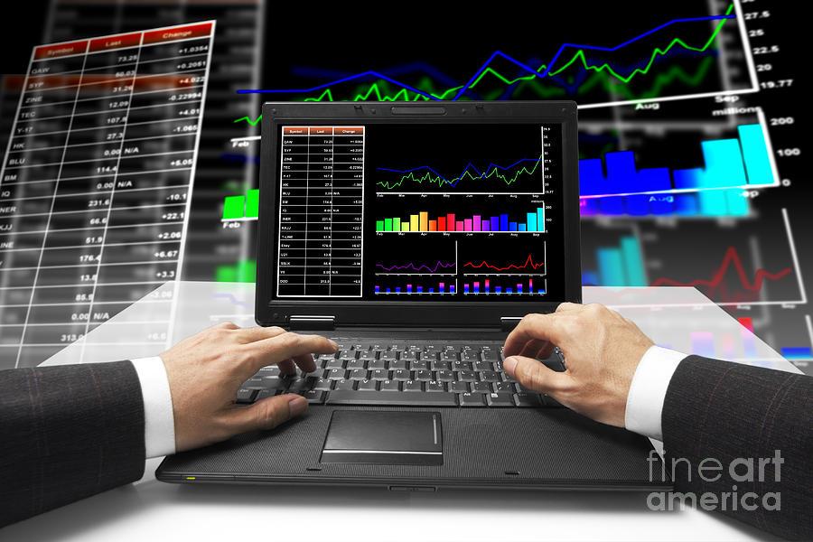Accounting Mixed Media - Follow Up by Atiketta Sangasaeng