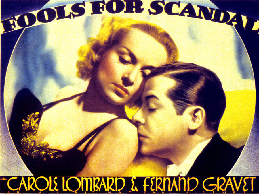1930s Movies Photograph - Fools For Scandal, Carole Lombard by Everett