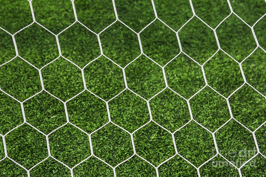 Football Goal Net Photograph By Mongkol Chakritthakool