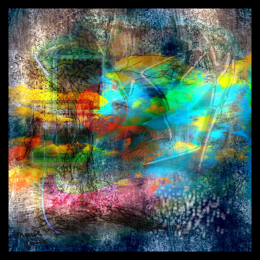 Abstract Digital Art - For Him by Monroe Snook