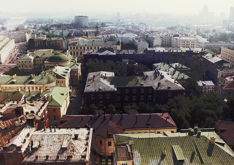 Moscow Photograph - forbidden view over Moscow by Nafets Nuarb