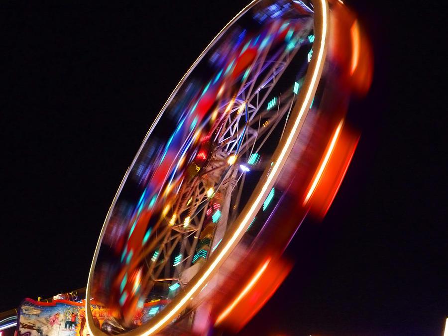 Wheel Digital Art - Force by Charles Stuart