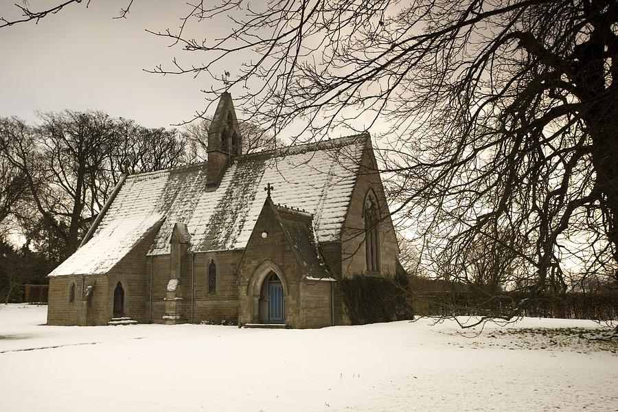 Natural Photograph - Ford, Northumberland, England Country by John Short