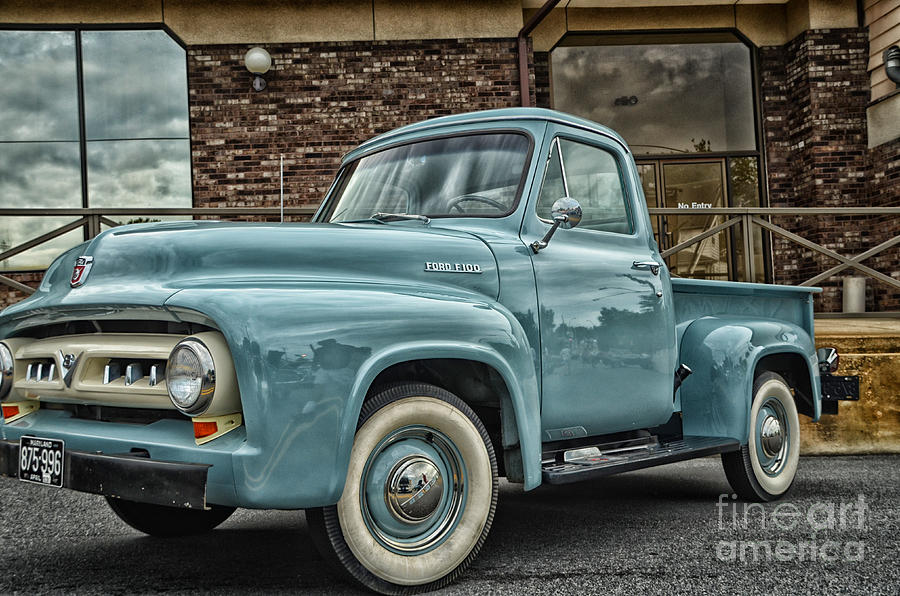 Vintage Truck Photograph - Ford Tough by Tamera James