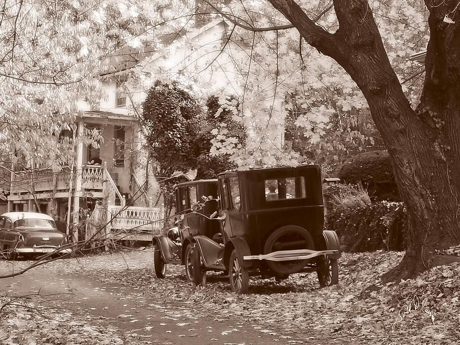 Fall Photograph - Fords At Harpers Ferry by Williams-Cairns Photography LLC