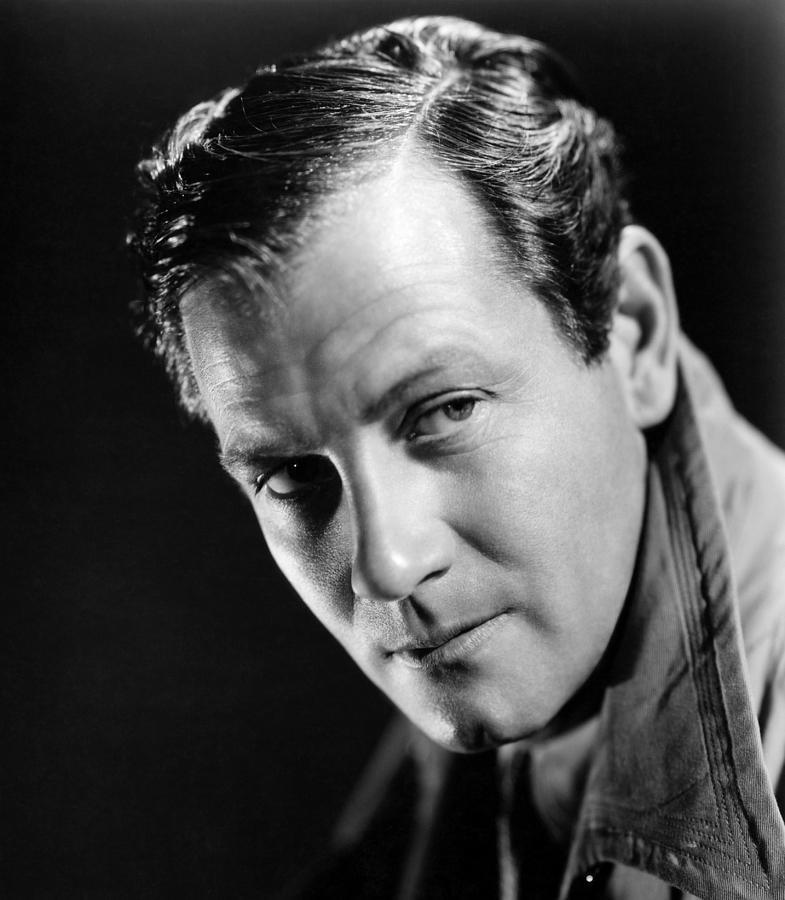 1940 Movies Photograph - Foreign Correspondent, Joel Mccrea, 1940 by Everett