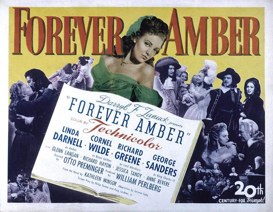 Forever Amber, Linda Darnell, 1947 Photograph by Everett