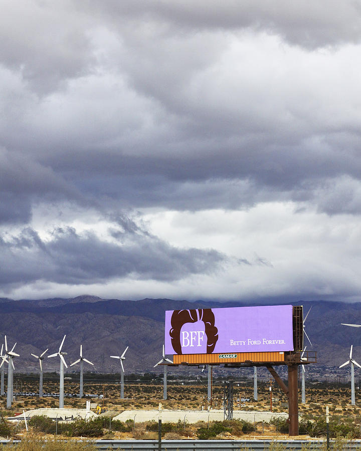 Windmills Photograph - Forever Palm Springs by William Dey
