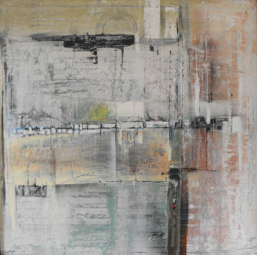Abstract Painting - Forgotten Arrangement by Ralph Levesque