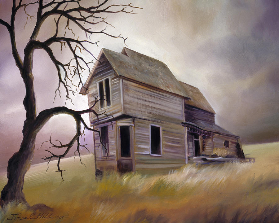 Haunted Painting - Forgotten But Not Gone by James Christopher Hill