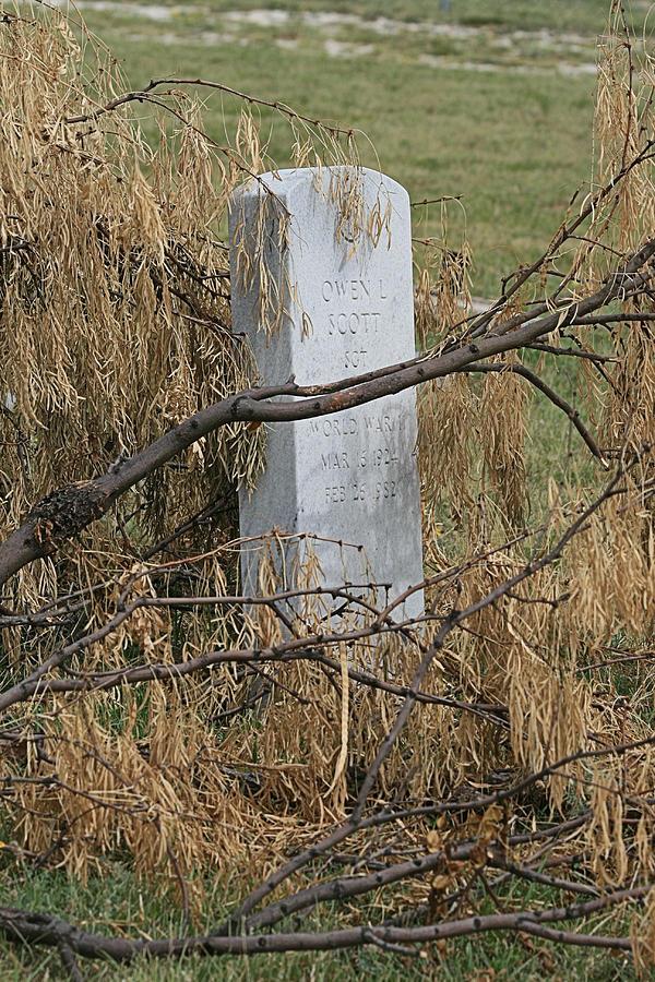 Grave Photograph - Forgotten by Judith B Adams