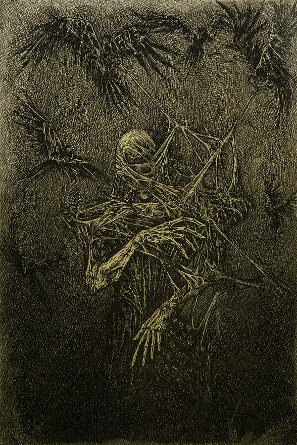 Darkness Digital Art - Forgotten by Maciej Kamuda