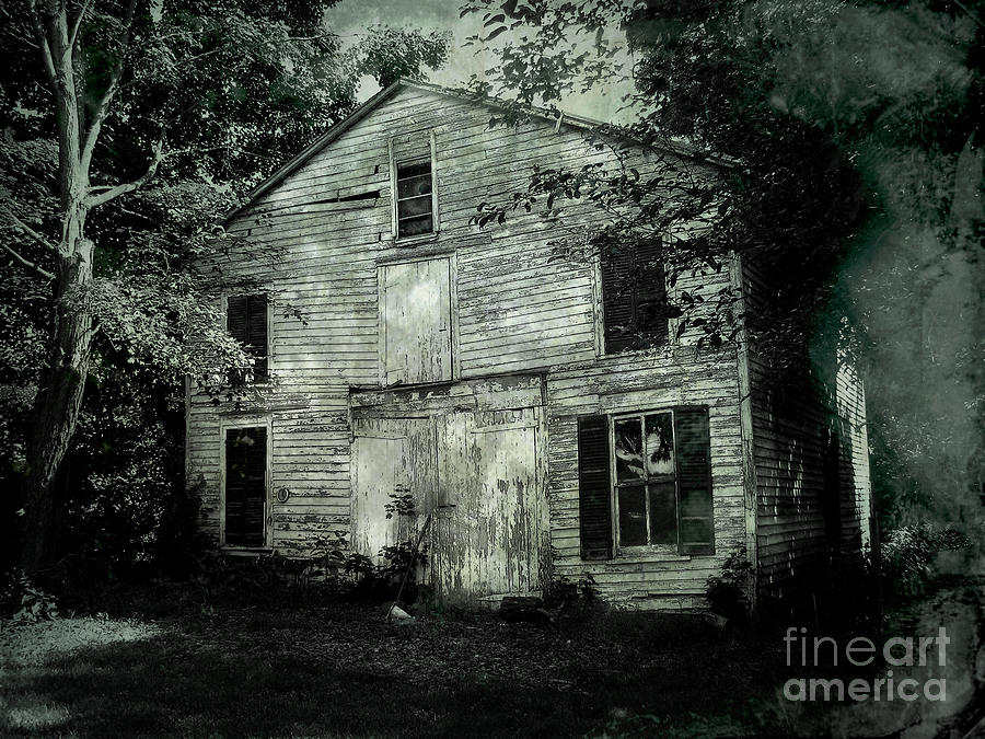 Barn Photograph - Forgotten Past by Colleen Kammerer