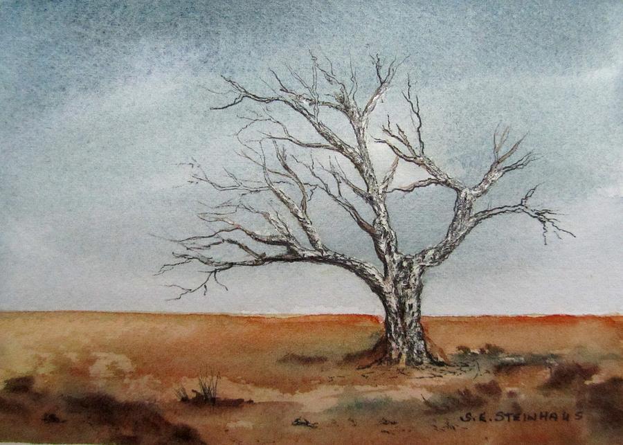 Landscape Painting - Forgotten by Sharon Steinhaus