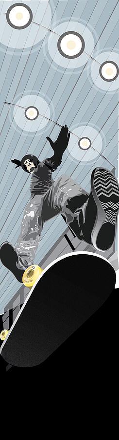Skater Mixed Media - Form by Jim Howard