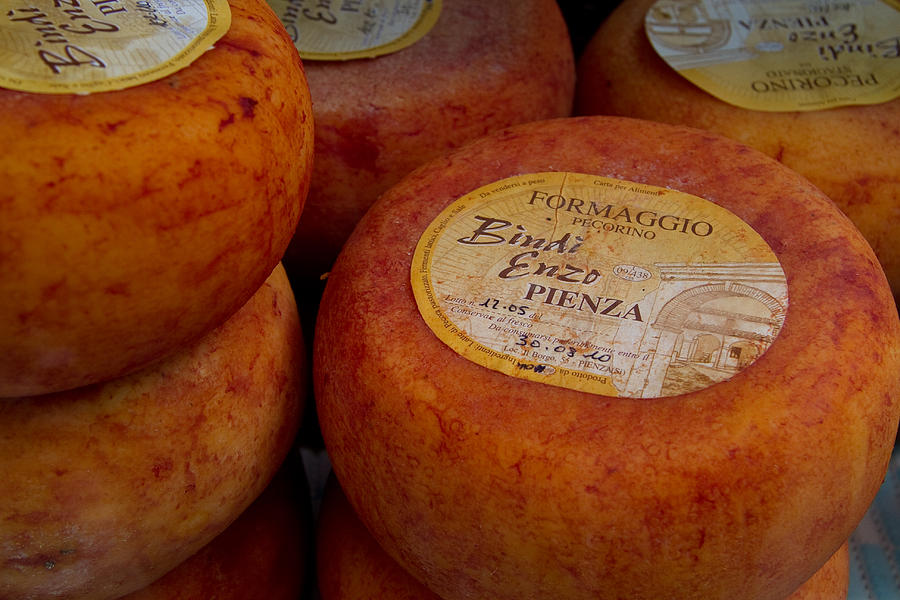 Pienza Photograph - Formaggio Cheese Of Italy by Roger Mullenhour