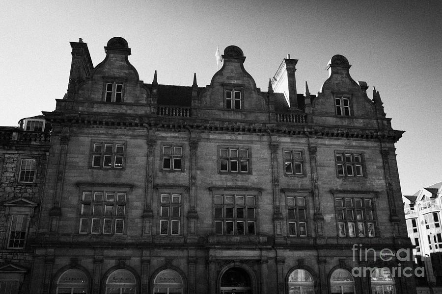Former Photograph - Former Scottish Equitable Life Offices 28 St Andrew Square Edinburgh Scotland Uk United Kingdom by Joe Fox