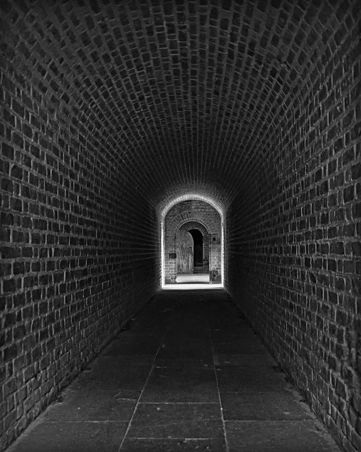 Black And White Photograph - Fort Clinch by Mario Celzner