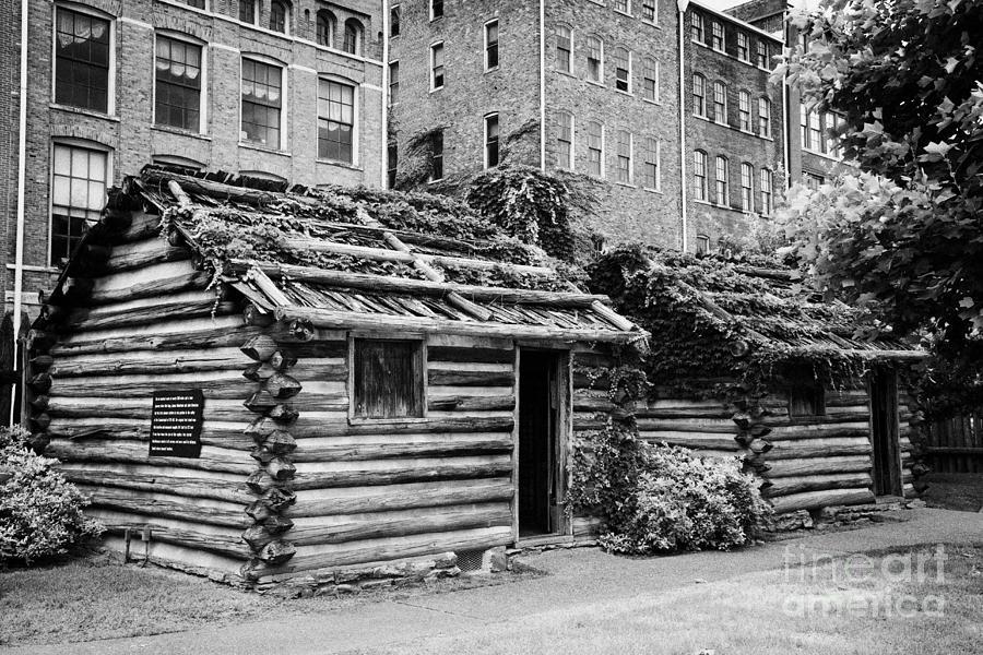 Fort Photograph - fort nashborough stockade recreation Nashville Tennessee USA by Joe Fox