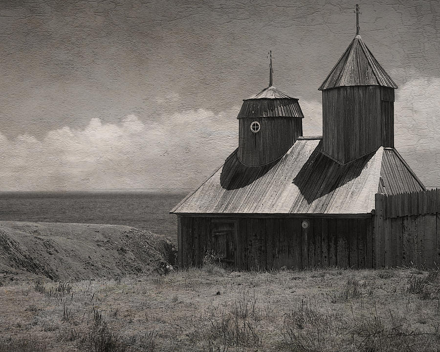 Architectural Photograph - Fort Ross Seashore by Julie Magers Soulen