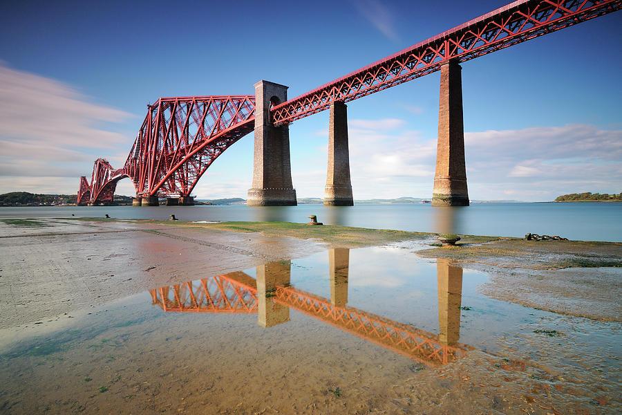 Horizontal Photograph - Forth Rail Bridge by Stu Meech