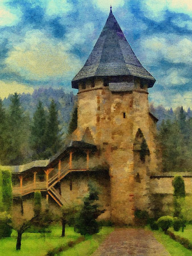 Fort Painting - Fortified Faith by Jeff Kolker