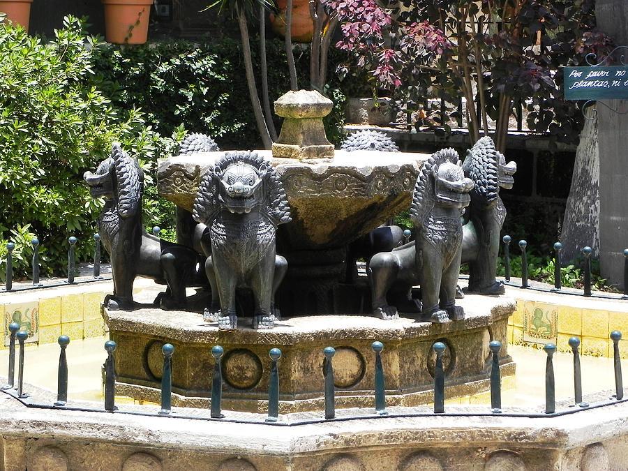 Fountain Photograph - Fountain by Jesus Nicolas Castanon