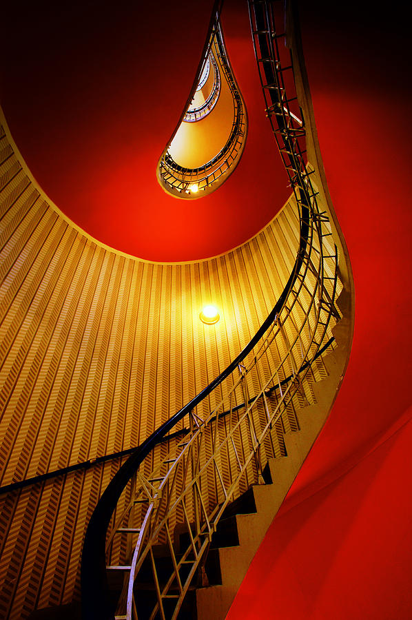 Staircase Photograph - Four Flights by John Galbo