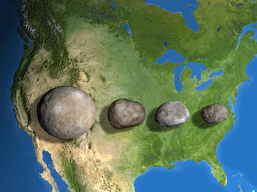 4 biggest asteroids in asteroid belt - photo #40