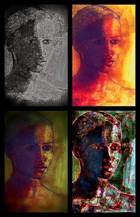 Portrait Photograph - Four Seasons by Diane montana Jansson