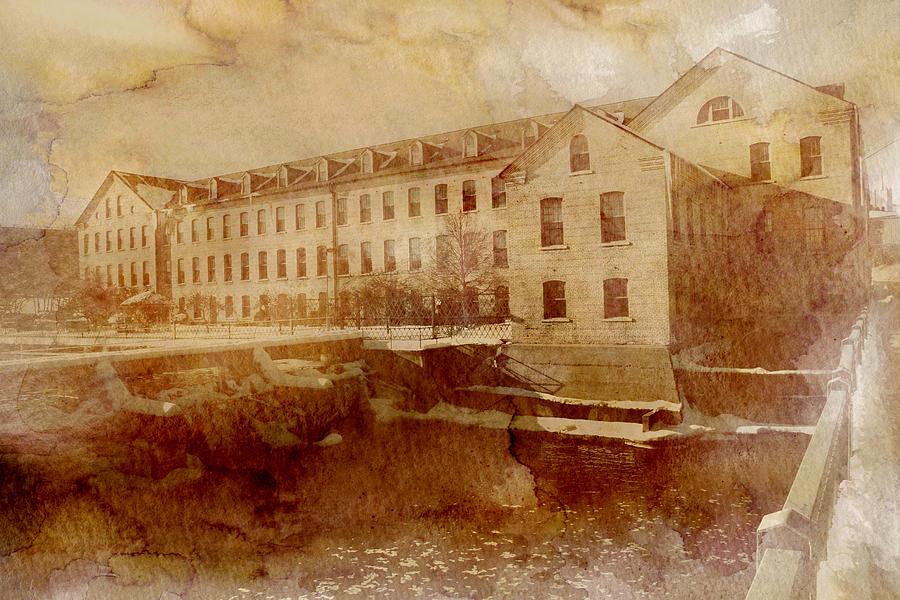 Fox River Mills Photograph - Fox River Mills by Joel Witmeyer