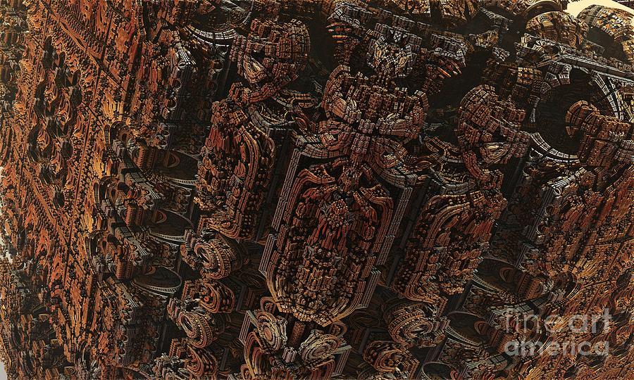 Fractal Digital Art - Fractal - Hells Door by Bernard MICHEL & Fractal - Hell\u0027s Door Digital Art by Bernard MICHEL Pezcame.Com