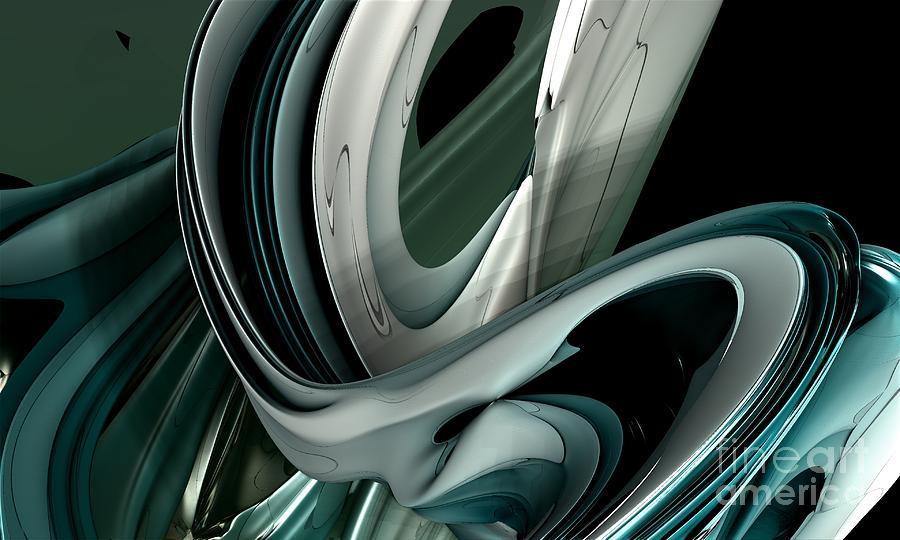Digital Digital Art - Fractal - The Shortest Way by Bernard MICHEL