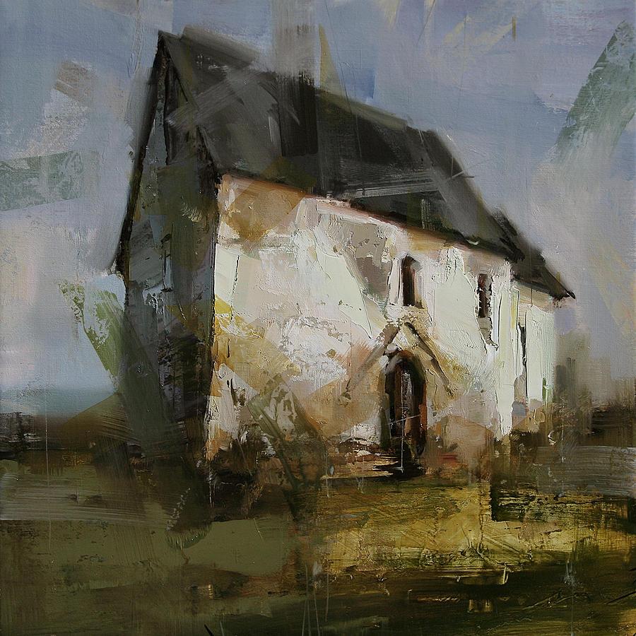 Landscape Painting - Fragile Eternity by Tibor Nagy