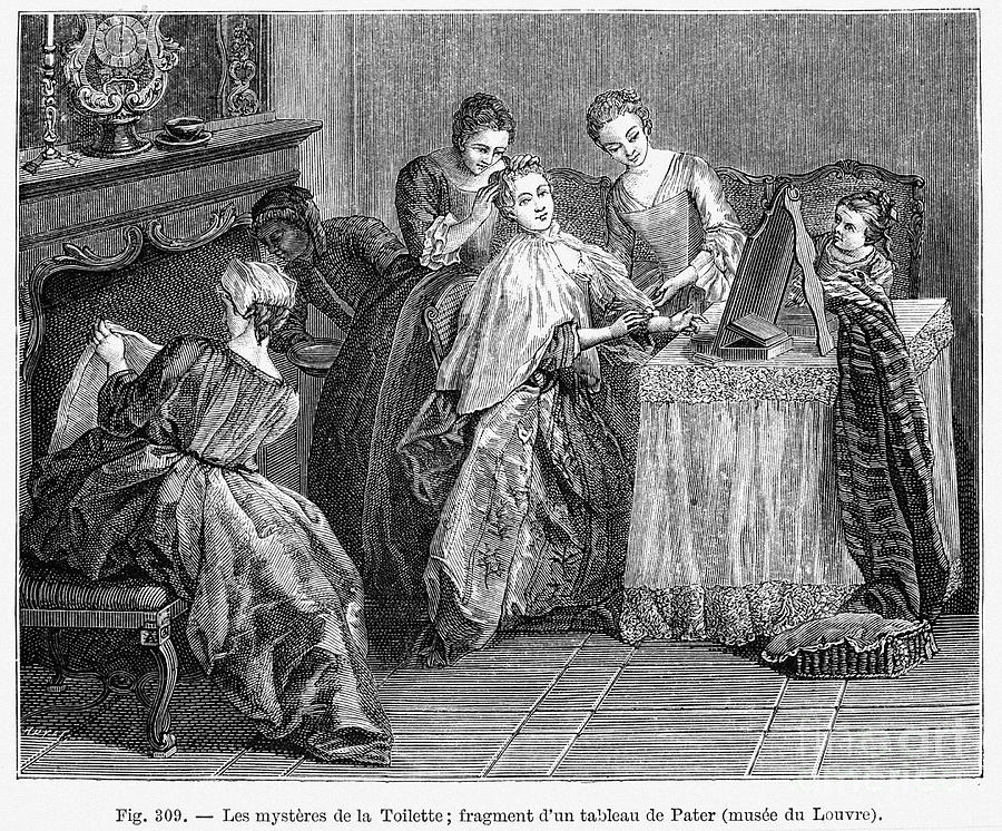 18th Century Photograph - France: Daily Life by Granger