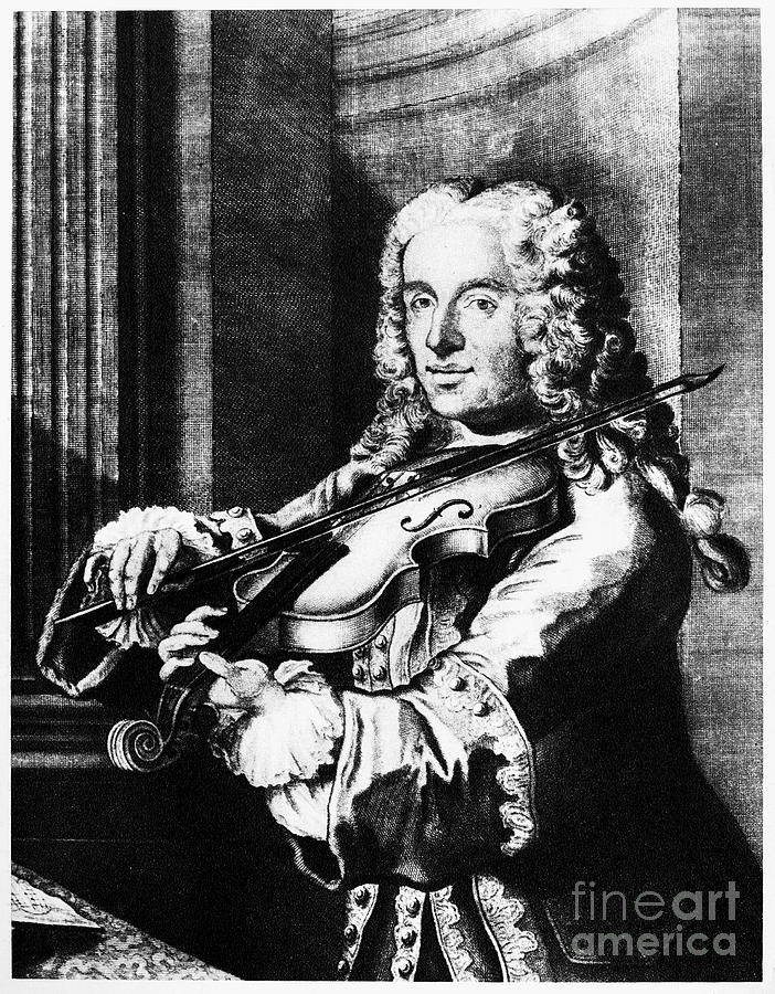 1744 Photograph - Francesco Maria Veracini by Granger