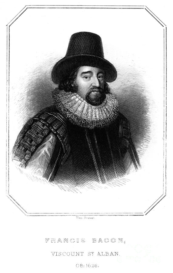 1618 Photograph - Francis Bacon (1561-1626) by Granger