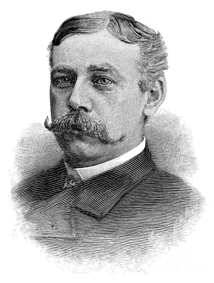 1890 Photograph - Francis E. Warren (1844-1929) by Granger