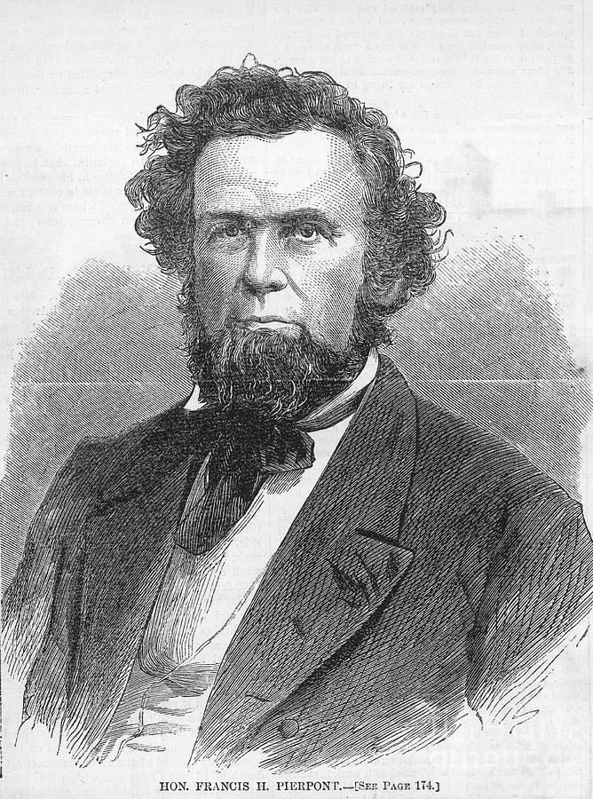 1866 Photograph - Francis H. Pierpont (1814-1899) by Granger