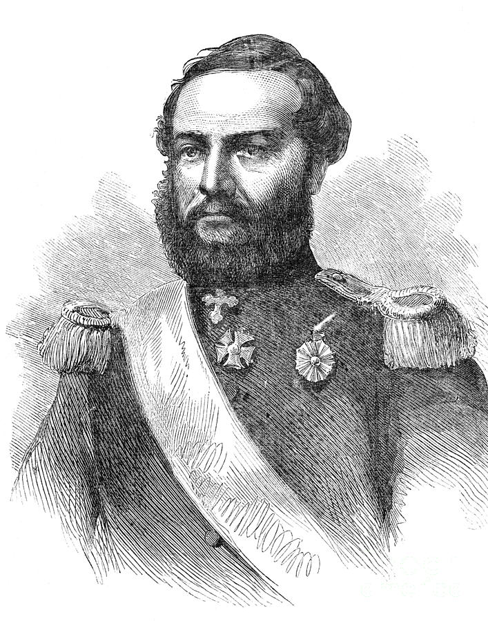 1865 Photograph - Francisco Solano Lopez by Granger