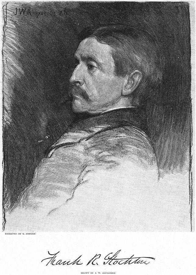 1886 Photograph - Frank R. Stockton by Granger