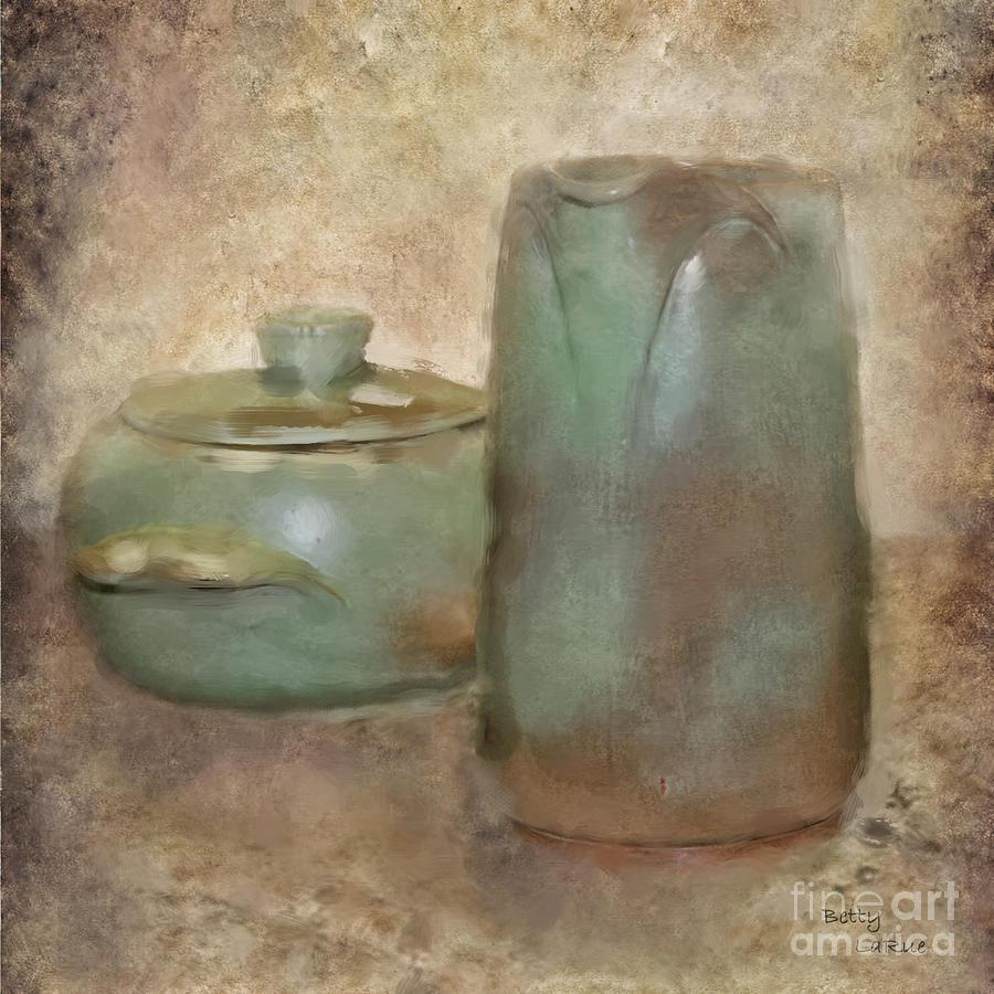 Pottery Photograph - Frankhoma Pottery by Betty LaRue