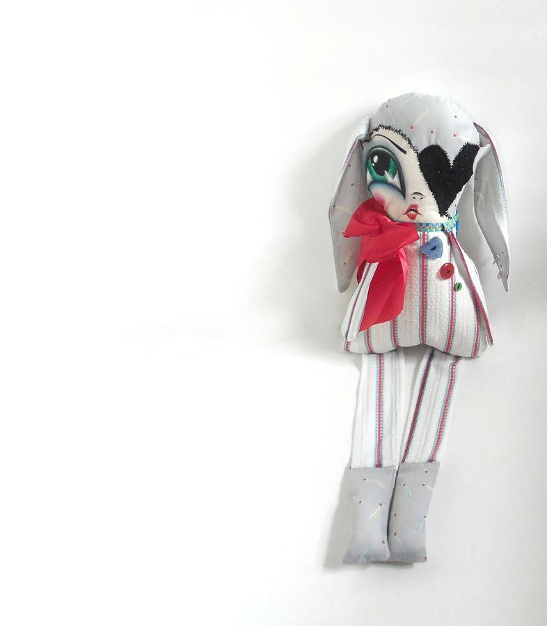 Doll Sculpture - Frankie by Oddball Art Co by Lizzy Love