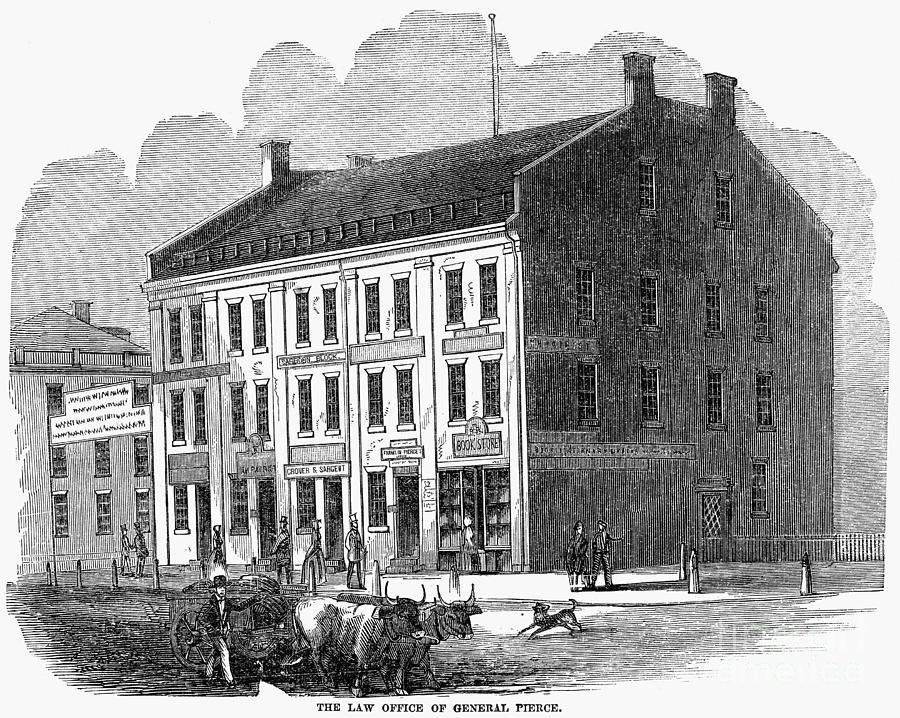 1853 Photograph - Franklin Pierce by Granger