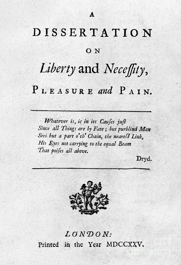 1725 Photograph - Franklin: Title Page, 1725 by Granger