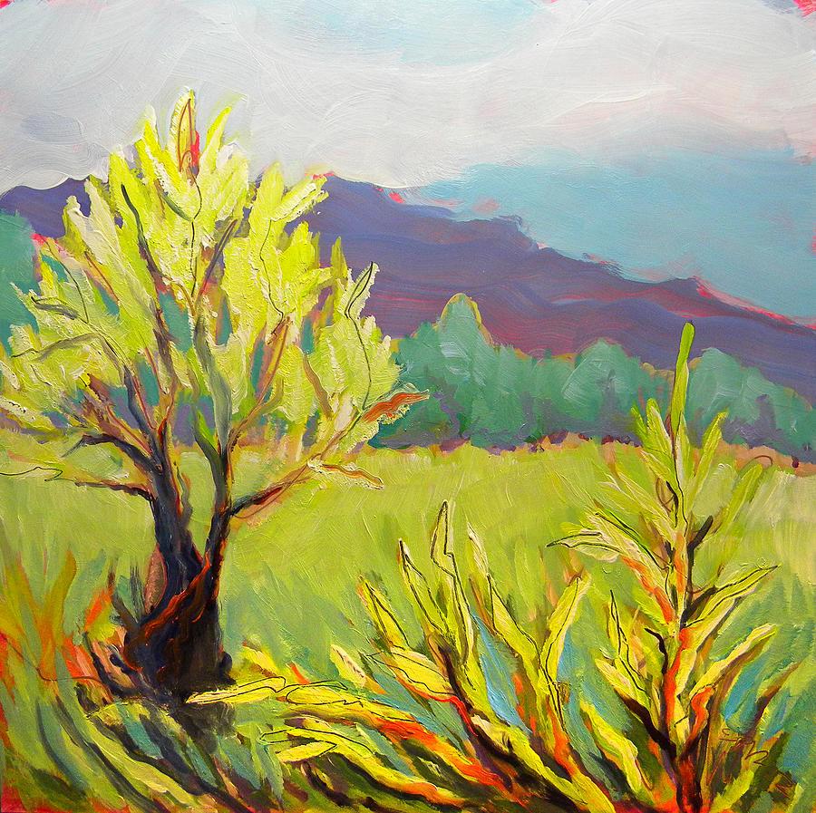 Oregon Painting - Frazier Wetland 2 by Pam Van Londen