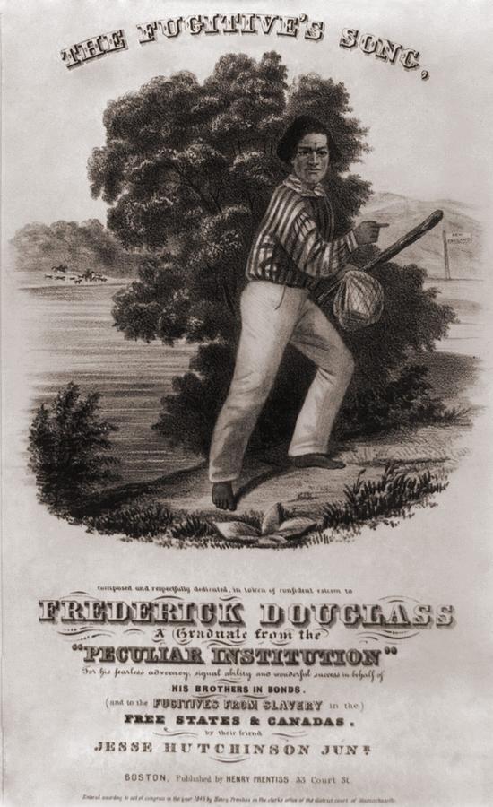 History Photograph - Frederick Douglass 1818-1895 by Everett